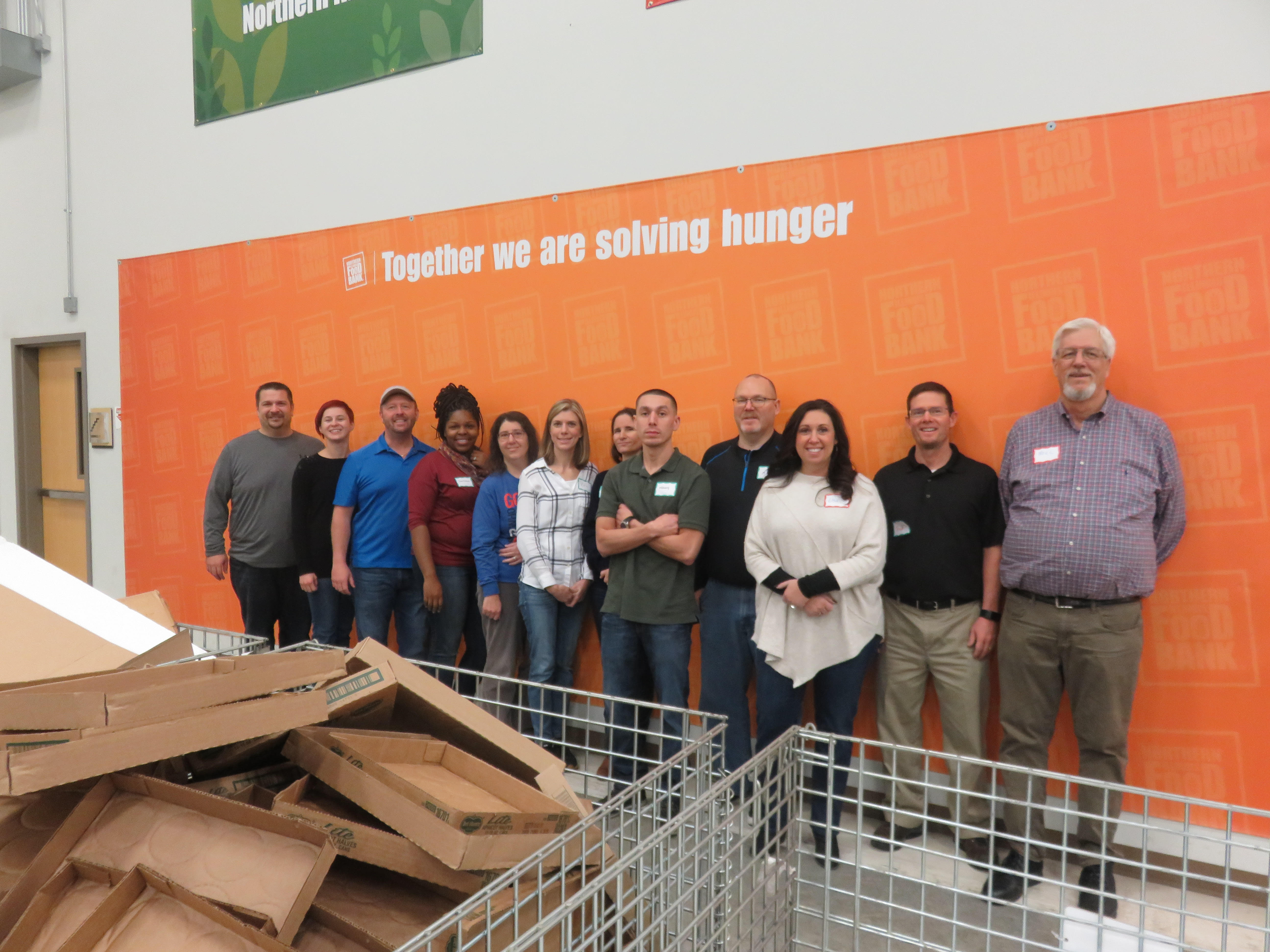 <p>On November 15th, 2018, the Apex team went to Northern IL Food Bank in Geneva to Volunteer!</p>