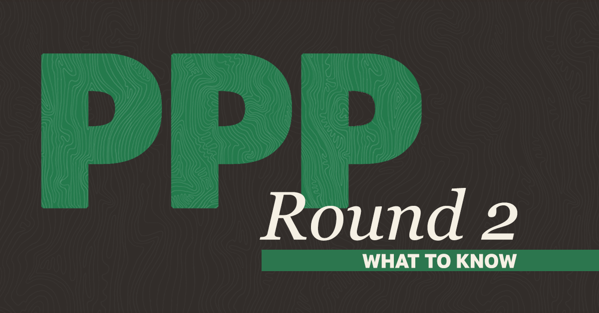 <p>PPP Loans: Round Two</p>